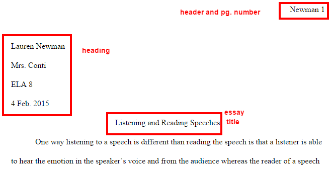 speeches speakers sample essay format be sure to replace my your be sure to create your own unique title that reflects the content of this particular essay